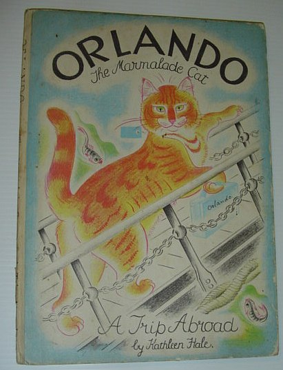 Image for Orlando the Marmalade Cat - A Trip Abroad