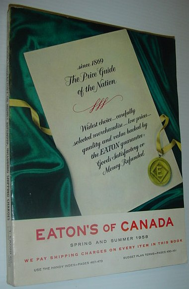 Image for Eaton's of Canada - Spring and Summer Catalogue 1958