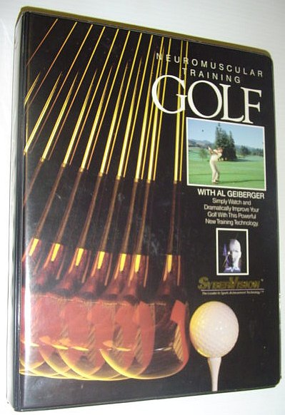 Image for Neuromuscular Training Golf: Tape and Book Set in Case