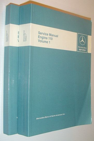 Image for Mercedes-Benz Service Manual - Engine 110: Volume 1 (One) and 2 (Two)