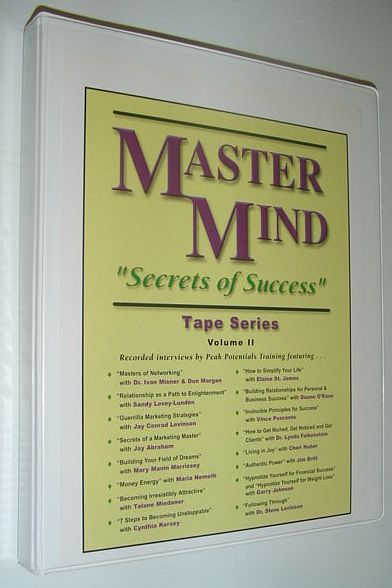 "Image for MasterMind ""Secrets of Success"" Tape Series: Volume II *16 Audio Cassette Tapes Complete with case*"
