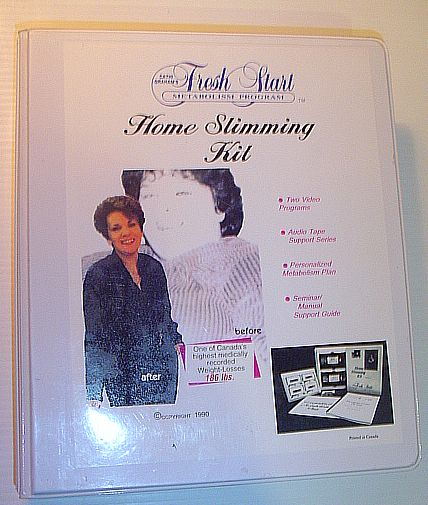 Image for Home Slimming Kit - Cathi Graham's Fresh Start Metabolism Program: 2 VHS Taps, Book and 5 Cassette Tapes with Case