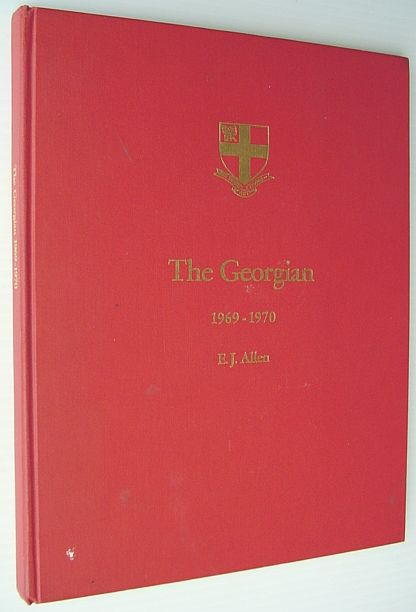 Image for The Georgian 1969-1970: Yearbook of St. George's School, Vancouver B.C.
