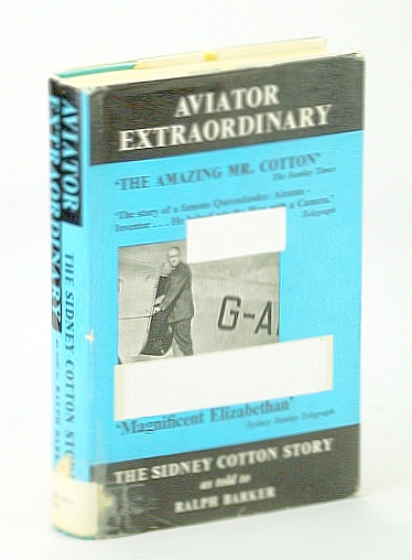 Image for Aviator Extraordinary: The Sidney Cotton Story as told to Ralph Barker