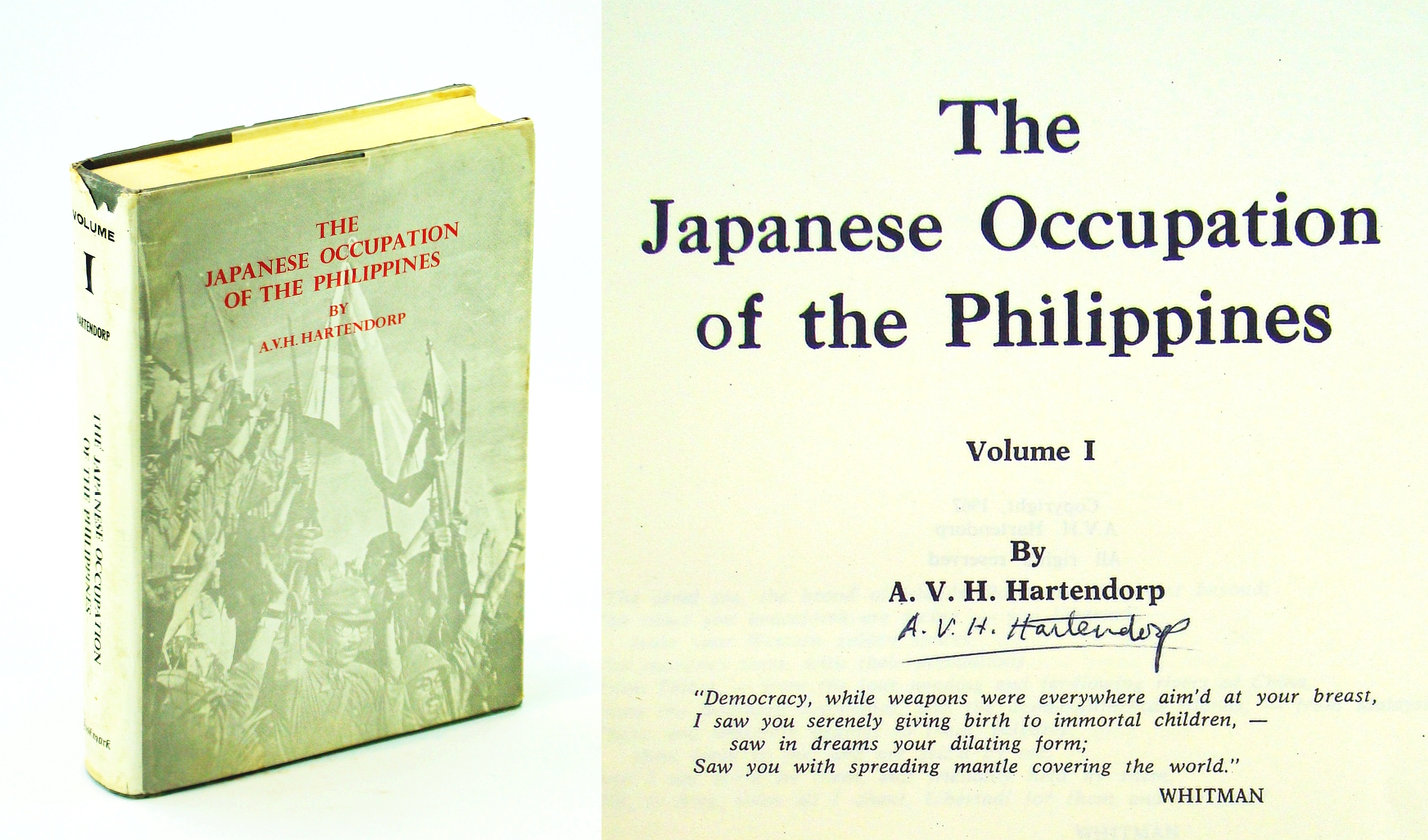 Image for The Japanese Occupation of the Philippines. Volume I