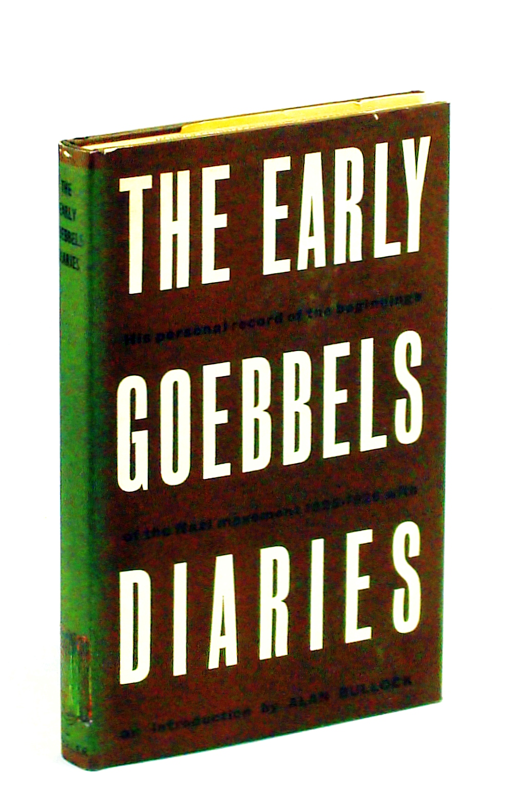 Image for The early Goebbels diaries, 1925-1926