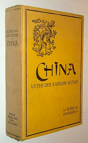 Image for China Unter Der Kaiserin Witwe