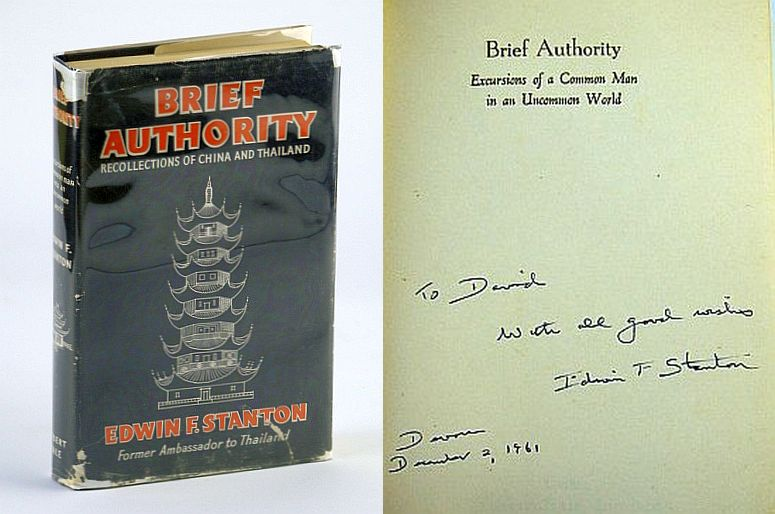 Image for Brief Authority: Excursions of a Common Man in an Uncommon World / Recollections of China and Thailand