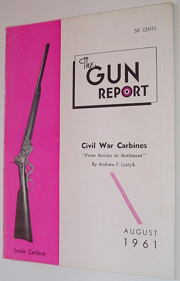 Image for The Gun Report Magazine - August 1961