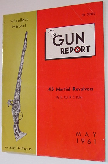 Image for The Gun Report Magazine - May 1961