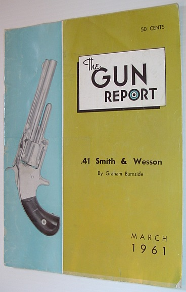 Image for The Gun Report Magazine - March 1961