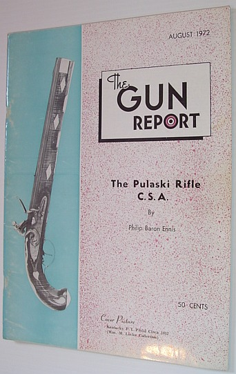 Image for The Gun Report Magazine - August 1972
