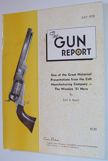 Image for The Gun Report Magazine - July 1978